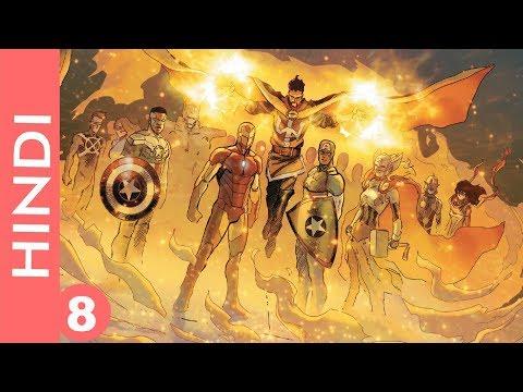 Marvel CIVIL WAR 2-- episode 8 !! Finding Spiderman !! /Marvel Comics in Hindi