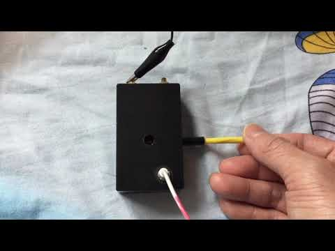 铜管可变电容FM再生收音机 DIY Var. Cap FM  Regenerative Radio