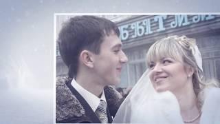 Свадебное слайд шоу из фотографий с музыкой