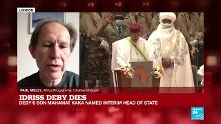 Chad's president Deby dies after fighting rebels on battlefield