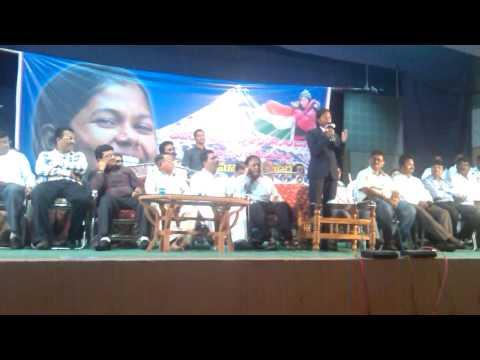 Malavath Poorna speach & experience shared