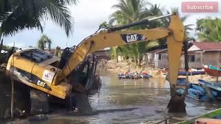 Pekerjaan Galian Untuk Normalisasi Sungai