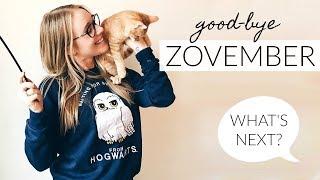 Good-bye #ZOVEMBER... What's next?