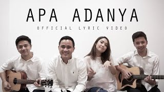 Video HIVI! - Apa Adanya (Official Lyric Video) download MP3, 3GP, MP4, WEBM, AVI, FLV November 2018