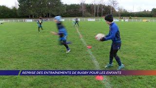 Yvelines | Reprise des entraînements de rugby pour les enfants