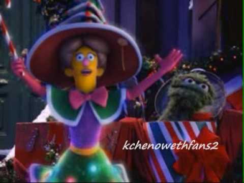 A Sesame Street Christmas Carol.Kristin Chenoweth A Sesame Street Christmas Carol 2006