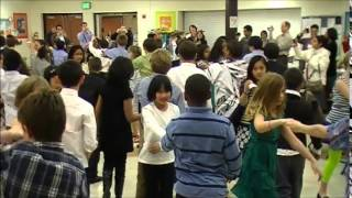 Mr.Smooth teaching Ballroom to Thurston Elementary School