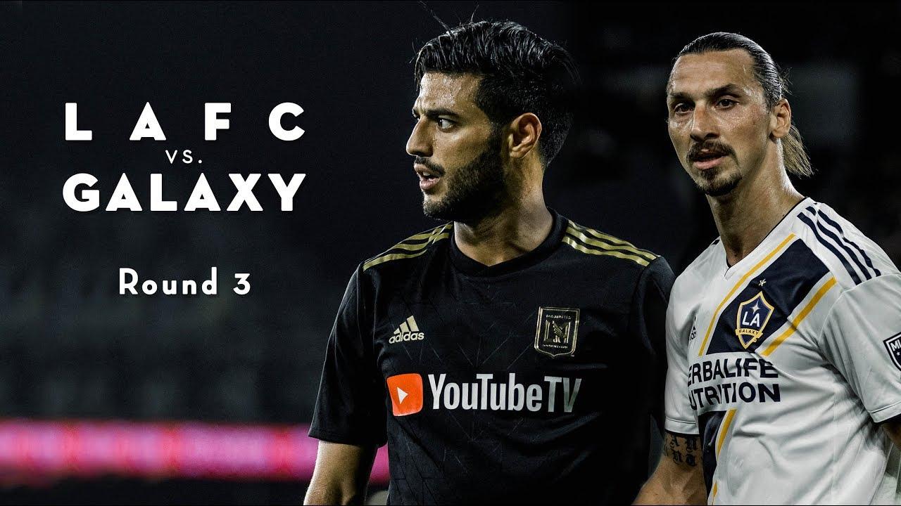 promo code 1e2fb 3e726 All the Hype Ahead of LAFC vs. Galaxy, Round 3 | LAFC: Black & Gold with  Max Bretos