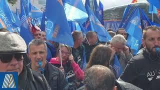 Alliance police Nationale Grand Est mobilisé pour la marche de la colère à Paris