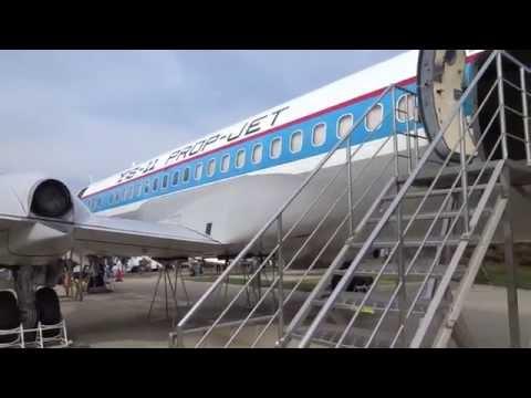 Japanese made Passenger Airplane Type YS11   MUSEUM OF AERONAUTICAL SCIENCES