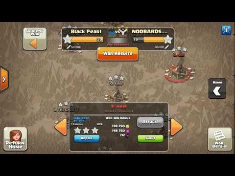Black Pearl Vs. NOOBARDS | Egypt Vs. France | Clash of Clans Best Attacks/War Recap