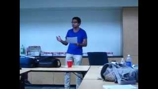"""Hindoo Man"" Spoken Word Performance"
