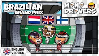 [EN] MiniDrivers - 10x20 - 2018 Brazilian Grand Prix