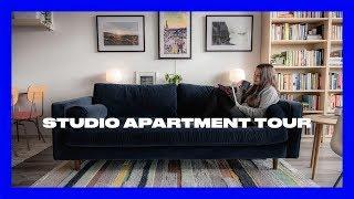 Studio Apartment Tour - 450 SQFT
