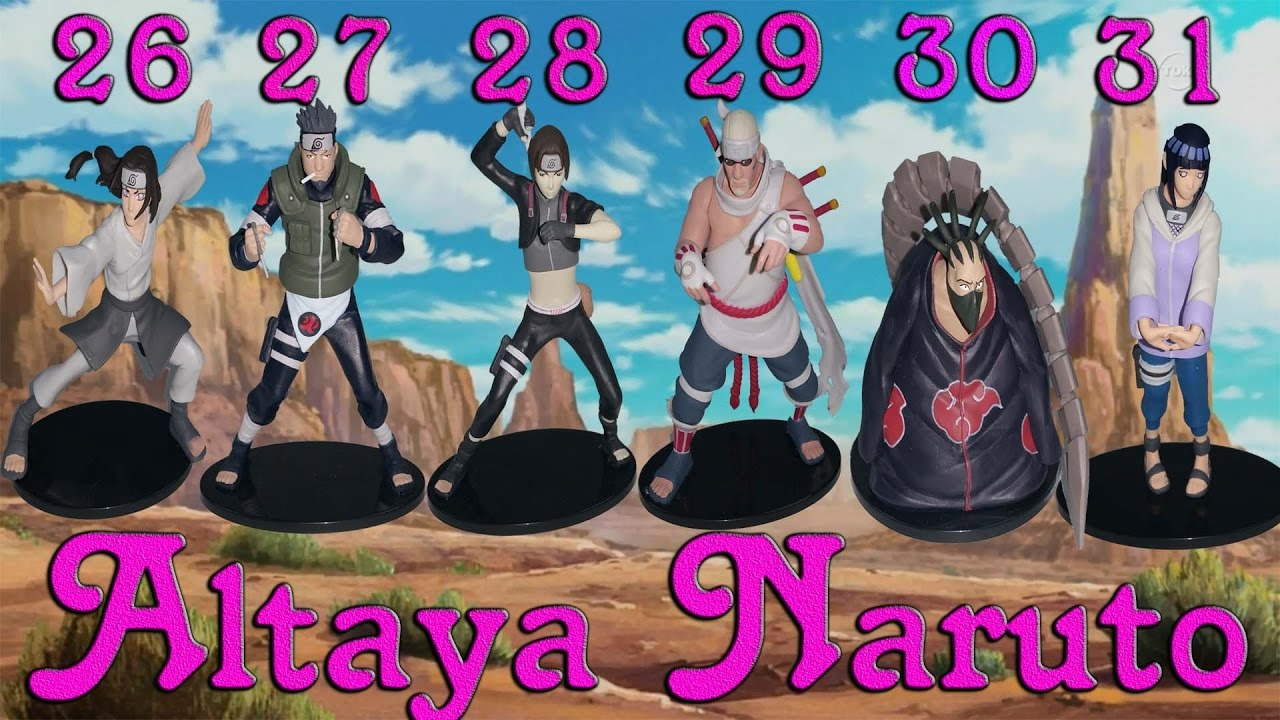 Altaya figurine naruto n 26 27 28 29 30 31 des figurines for Naruto coleccion altaya