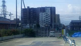 JR四国 松山駅南側 松山行きキハ54 到着へ