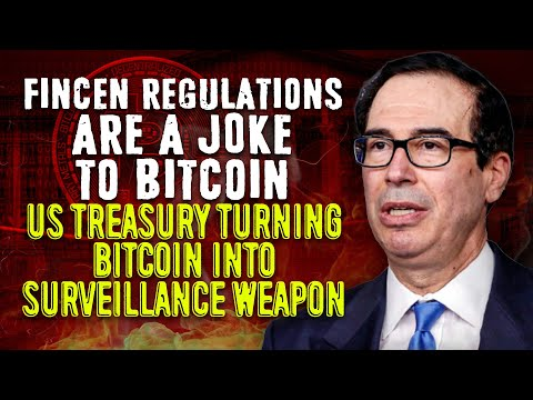 Bitcoin Wallets Have Lost All Privacy | US Treasury Turning Crypto Into Surveillance Weapon