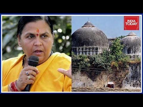Ayodhya Conspiracy: Uma Bharti Speaks On Babri Masjid Row And Crimes In UP