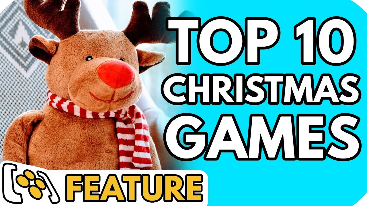 Top 10 Christmas Video Games Of All Time Youtube