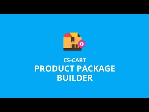 CS Cart Product Package Builder