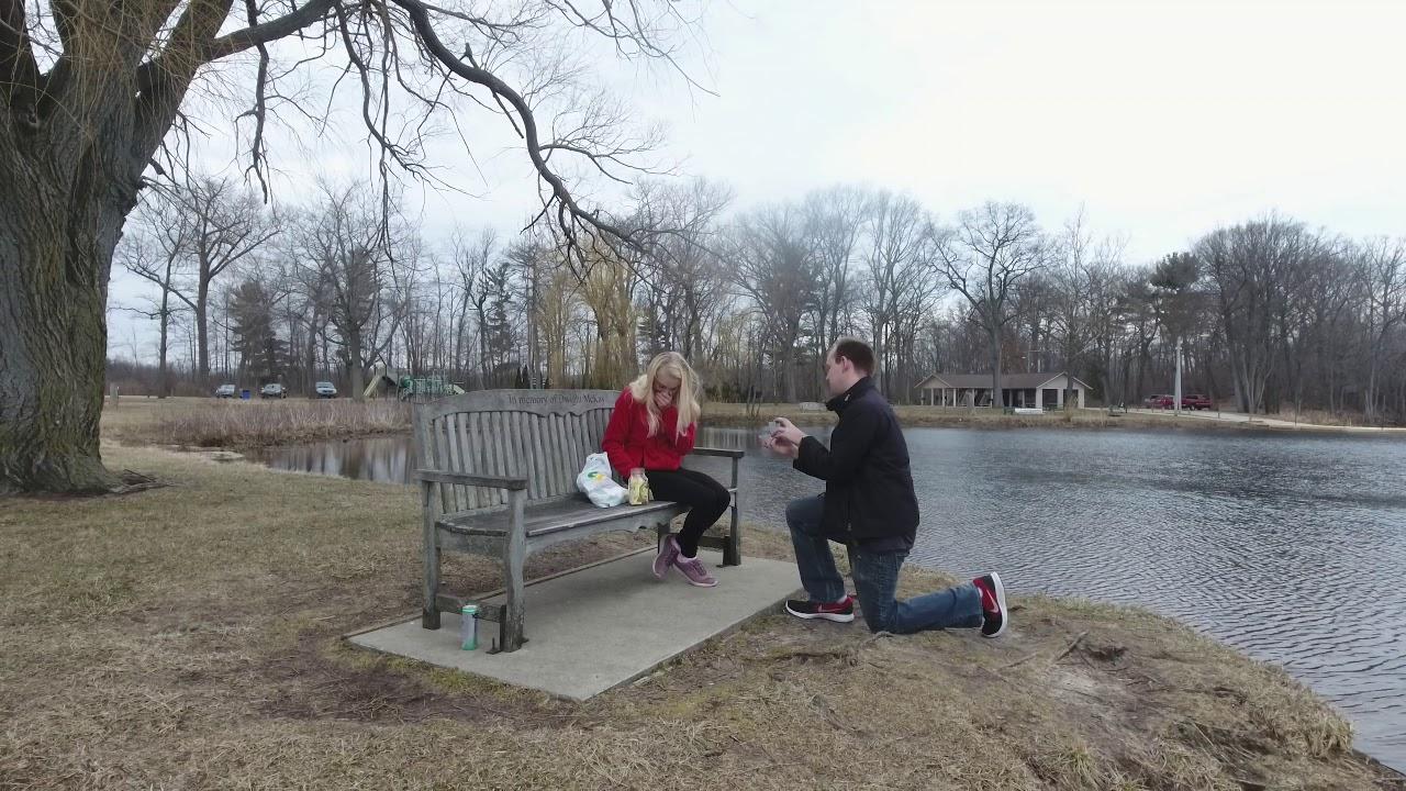 Mitchs Proposal To Brooke Skye Bigford
