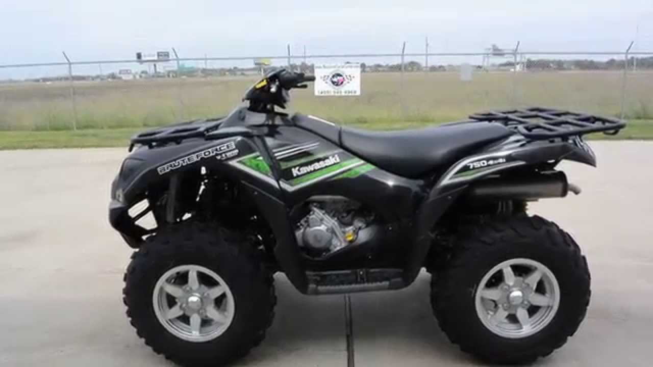 medium resolution of  9 999 2016 kawasaki brute force 750 super black eps overview and review youtube