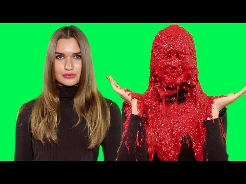 Gorgeous Russian Woman Slimed Multiple Times For Charity!