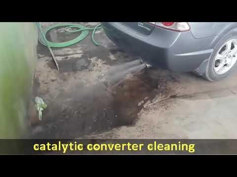 Catalytic Converter Cleaning #Peshawar 2019 | #Pakistan