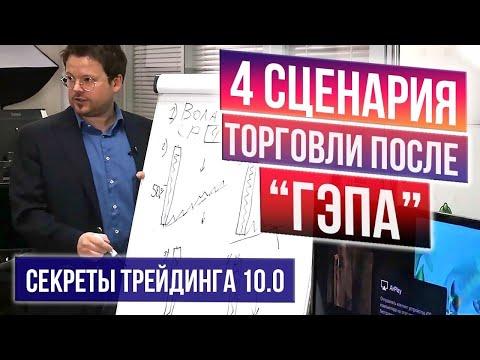 Видео: Сильный сигнал на нефти, 4 формации после гэпа, +100% Ethereum. Секреты трейдинга 10.0