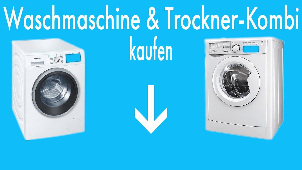 Bosch Waschmaschine Trockner Kombi Youtube
