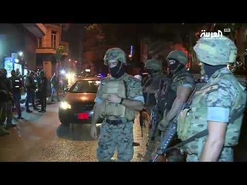الجيش اللبناني ينتشر في مداخل وسط بيروت #لبنان_ينتفض  - نشر قبل 7 ساعة