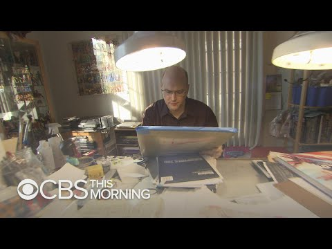Inside The Studio Of Legendary Comic Book Artist Alex Ross