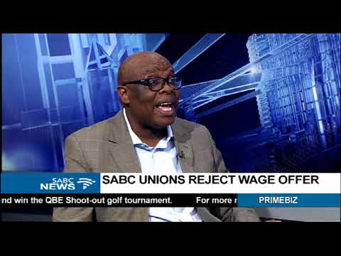 Strike looming at SABC as unions reject 4,5% offer