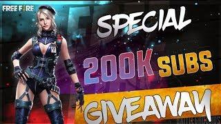 Garena Free Fire Live Giveaway on 200k Rush Game Play #AAWARA007 @FREEFIRE @FREEFIRELIVE