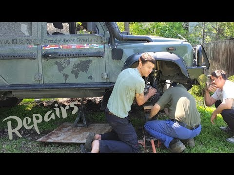 repairing-a-defender-in-kyrgyzstan-(ep76-grizzlynbear-overland)