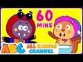 Little Miss Muffet | Popular Nursery Rhymes for Children | All Babies Channel