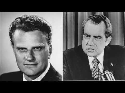 Billy Graham & Richard Nixon discuss the Jews.
