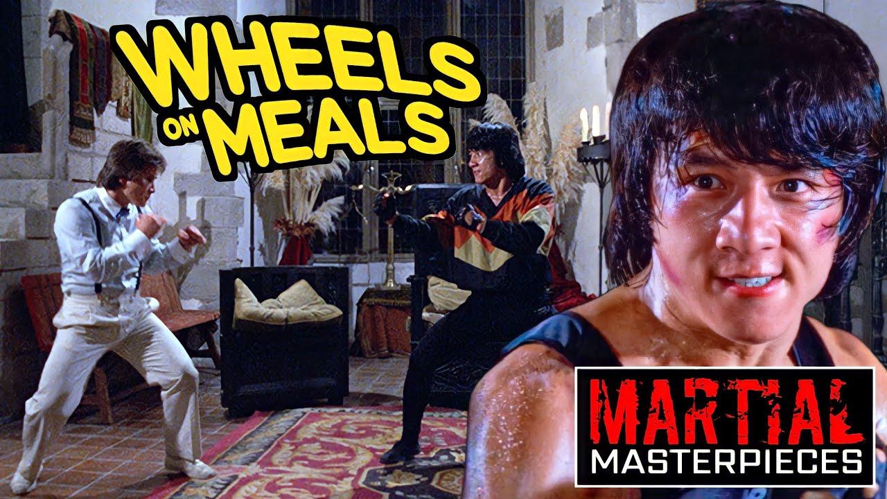 Download Wheels on Meals (1984)   Jackie Chan vs. Benny Urquidez   FULL FIGHT SCENE   1080p HD