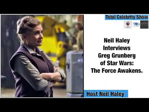 Neil Haley interviews Greg Grunberg of Star Wars: The Force Awakens. from YouTube · Duration:  10 minutes 12 seconds
