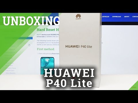 HUAWEI P40 Lite Unboxing – What you'll find inside?