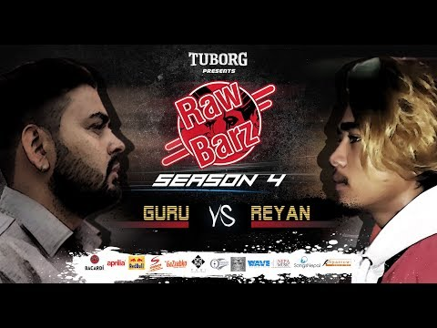 GURU VS REYAN (Official Debut Battle) | Tuborg Presents RawBarz Rap Battle S4E5 2018 (Nepali)