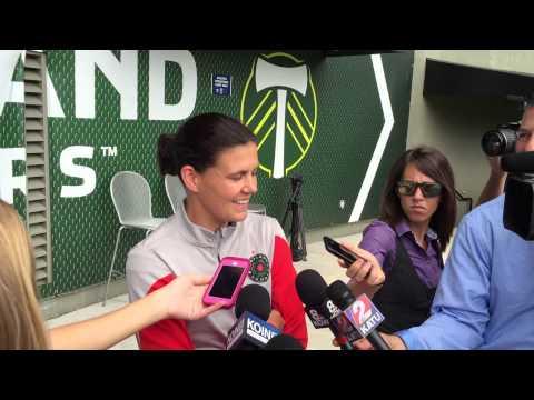 Christine Sinclair Returns to Portland Thorns Post WWC 7.16.15