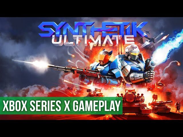 SYNTHETIK Ultimate - Gameplay (Xbox Series X) HD 60FPS