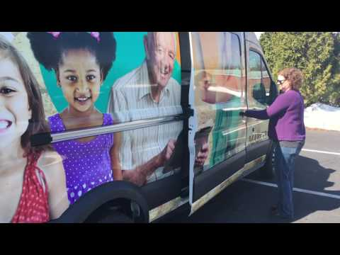 Dauphin County's new library on wheels