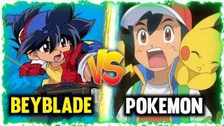 Pokemon vs beyblade || Ash vs Tyson || hindi |