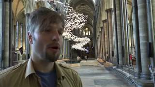 Salisbury Cathedral Plays Host To A Huge Flock Of Doves!