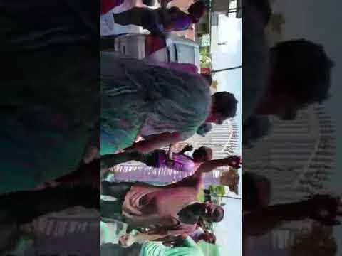 Phagwah celebration at Rohit's resident in stewartville west coast demerara Guyana
