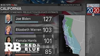 Biden's lead shrinking in latest CBS News Battleground Tracker poll