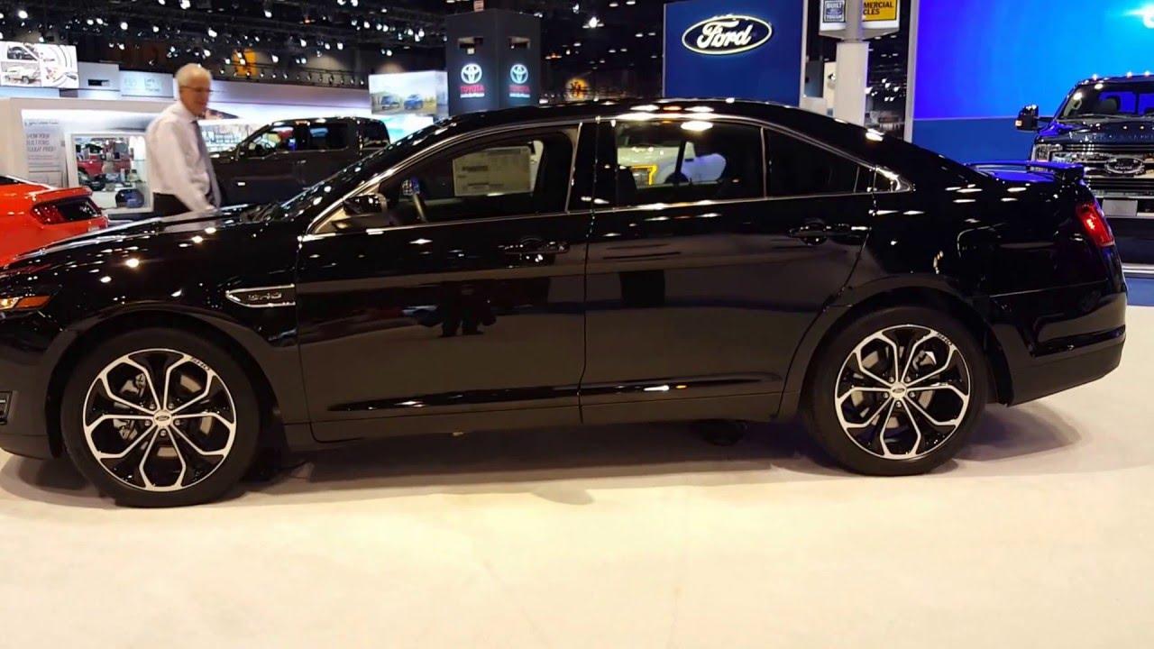 2016 Ford Taurus Sho Exterior Chicago Auto Show