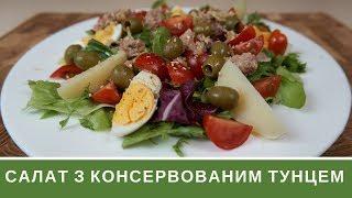 Салат З Тунцем: Швидка Вечеря